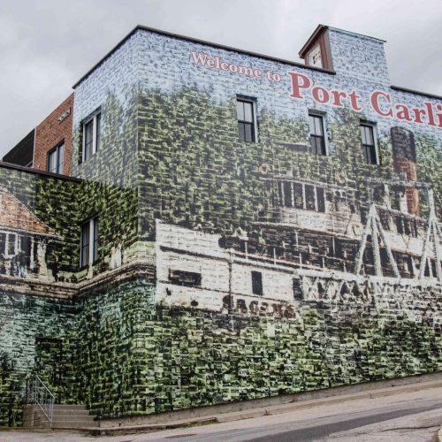 Port Carling Mosaic Wall